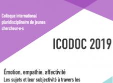 RAPPEL : Colloque de jeunes chercheur.e.s ICODOC 2019 (07-09/10/2019)
