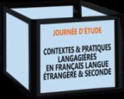 Journée d'étude ICAR : « Contextes et pratiques langagières en français langue étrangère et seconde » (31/01/2020)