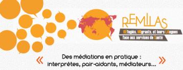 ANNULATION : Journée d'étude du projet REMILAS : « Médiation et interprétation, tiers et pair-intervenants » (27/03/2020)